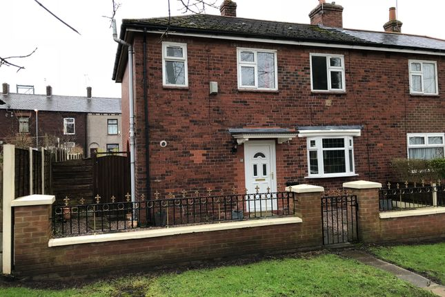 Thumbnail Semi-detached house to rent in Haughton Avenue, Oldham