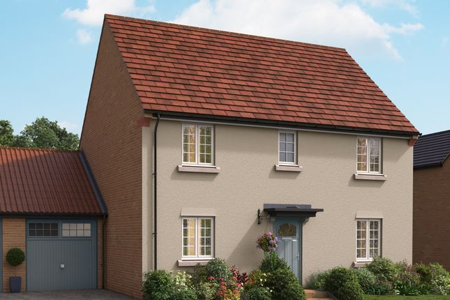 "Thumbnail Detached house for sale in ""The Claremont"" at Isemill Road, Burton Latimer, Kettering"