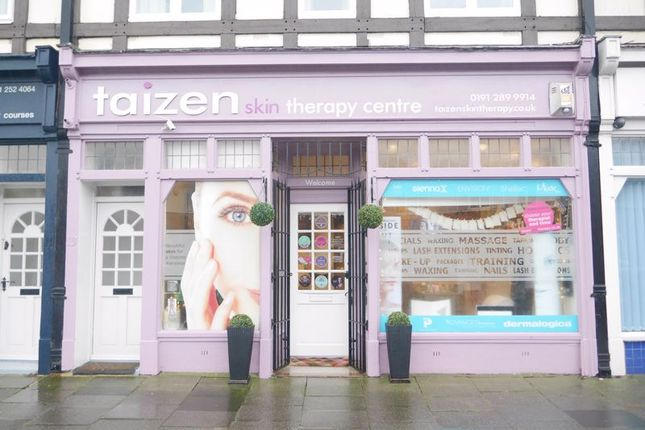 Thumbnail Retail premises for sale in Taizen Skin Therapy Centre, Claremont Road, Whitley Bay