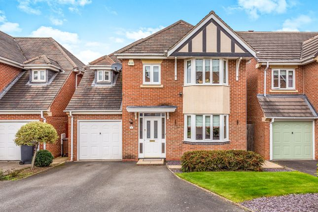 Thumbnail Detached house for sale in Alvis Dale, Rothley, Leicester