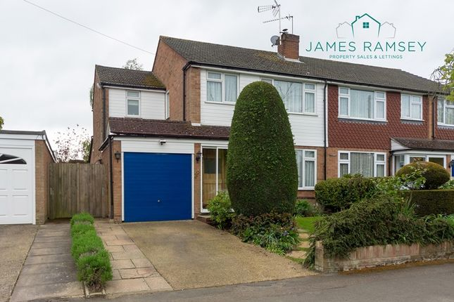 Thumbnail Semi-detached house for sale in Fletcher Road, Ottershaw