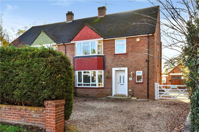 Thumbnail Semi-detached house for sale in Coleford Bridge Road, Mytchett, Camberley, Surrey