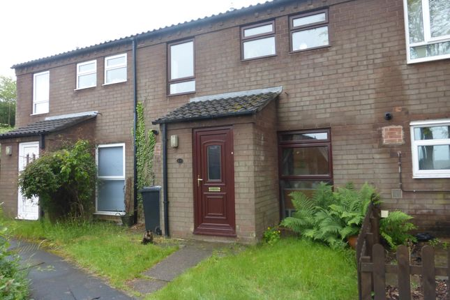 Thumbnail Terraced house to rent in Sorrel, Tamworth