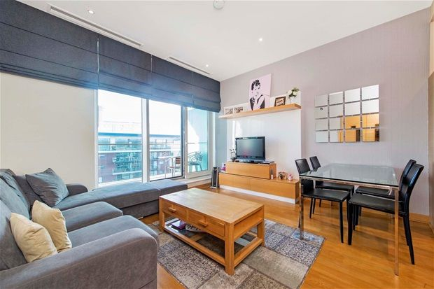 Thumbnail Flat for sale in Oswald Building, Penthouse, Chelsea Bridge Wharf
