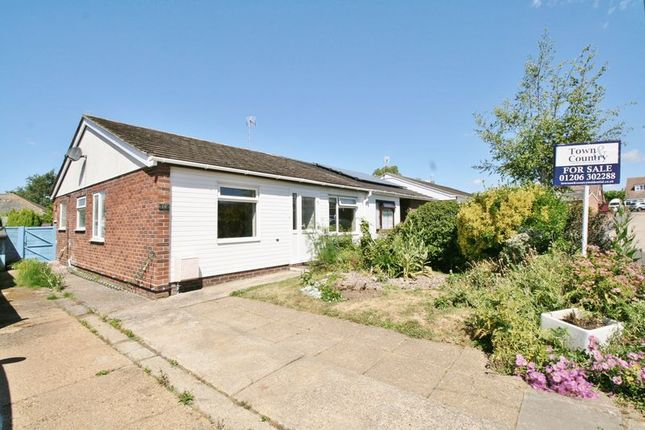 Thumbnail Bungalow for sale in Charles Road, Brightlingsea, Colchester