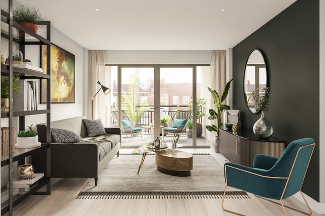 Thumbnail Flat for sale in Vauxhall Street, London