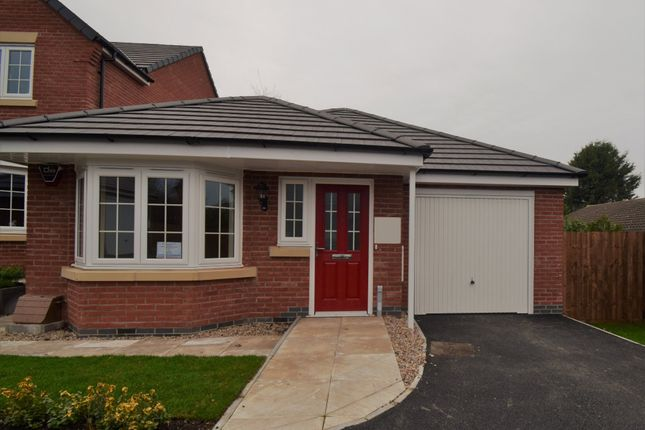 Thumbnail Detached bungalow for sale in Dent Drive, Thurmaston, Leicester