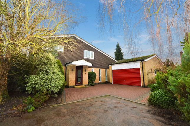 Thumbnail Detached house to rent in Stoughton Close, Oadby, Leicester