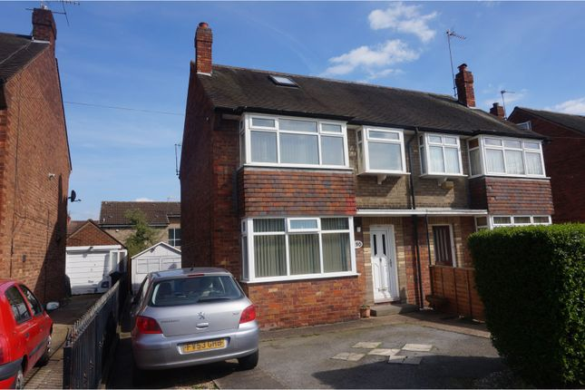 Thumbnail Semi-detached house for sale in Auckland Avenue, Hull