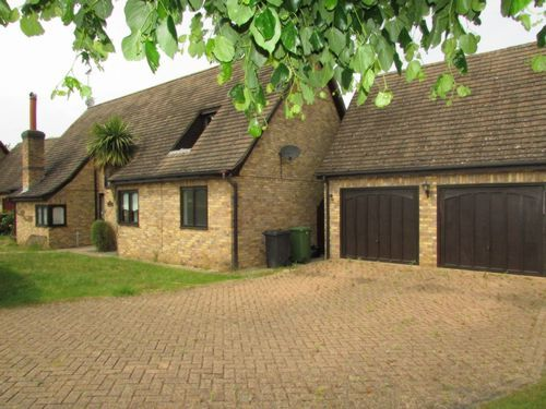 Thumbnail Detached house to rent in The Willows, Glinton