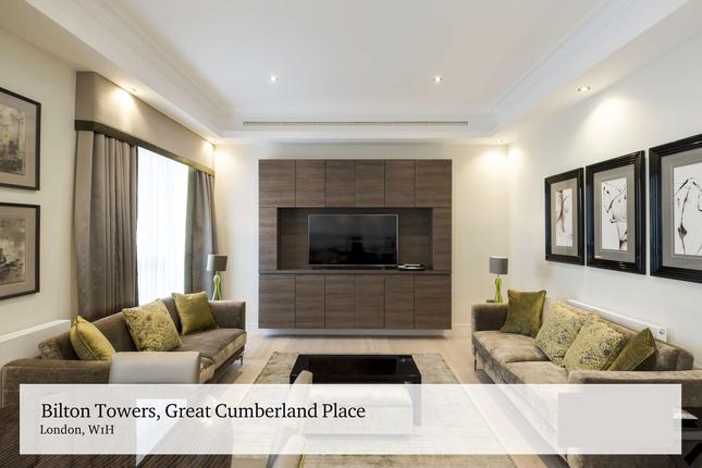 Thumbnail Flat to rent in Great Cumberland Pl, Marylebone, London, London