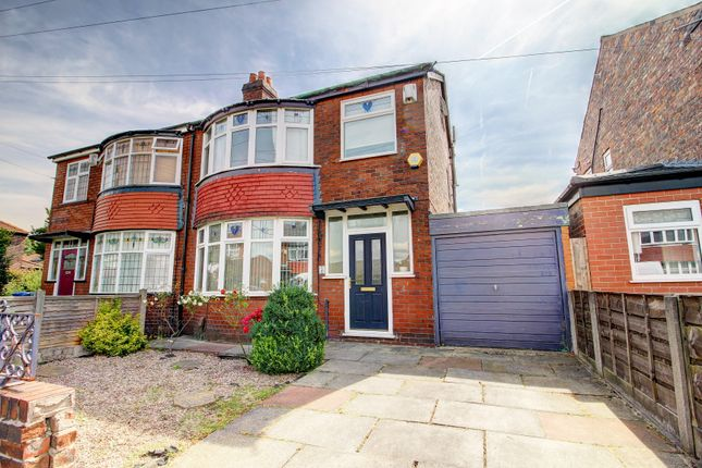 Thumbnail Semi-detached house for sale in Bedford Road, Firswood, Manchester
