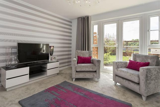 """Thumbnail Semi-detached house for sale in """"Brodie"""" at Oldmeldrum Road, Inverurie"""