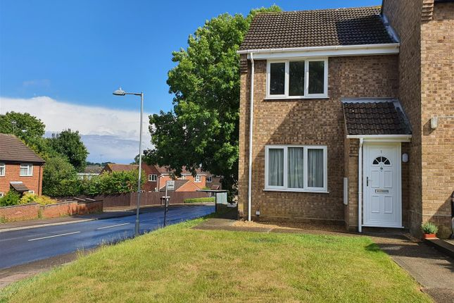 Thumbnail End terrace house to rent in Sycamore Close, Belstead, Ipswich