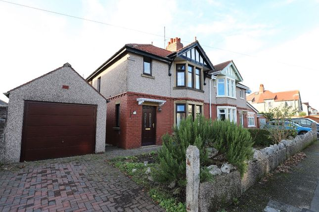 Thumbnail Semi-detached house for sale in Sulby Grove, Bare, Morecambe