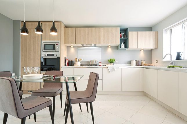 """Thumbnail Semi-detached house for sale in """"The Queensbridge"""" at Steeplechase Way, Market Harborough"""