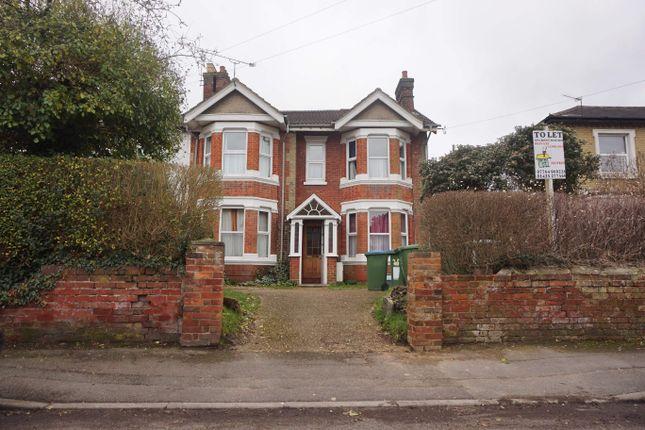 Thumbnail Town house to rent in Belmont Road, Southampton