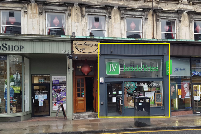 Thumbnail Retail premises to let in Queensferry Street, New Town, Edinburgh