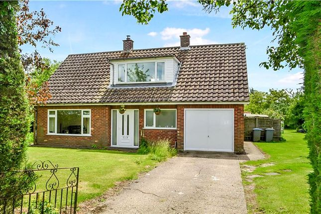 Thumbnail 3 bed detached bungalow for sale in Silverleys Green, Cratfield, Halesworth
