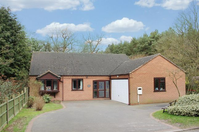 Thumbnail Detached bungalow for sale in Birchley Heath, Warwickshire
