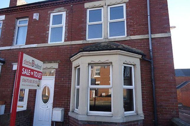 Thumbnail Terraced house for sale in Newbiggin Road, Ashington