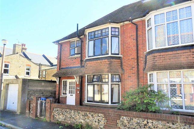 Thumbnail Semi-detached house to rent in Rawdon Road, Ramsgate