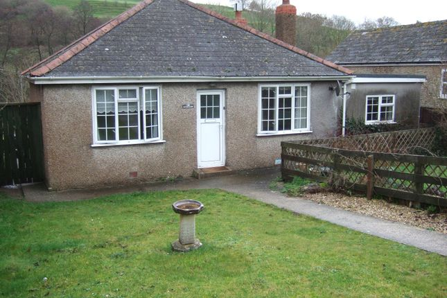 Thumbnail Detached bungalow to rent in Uploders, Bridport