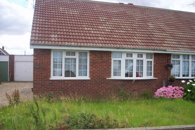 Thumbnail Semi-detached bungalow to rent in Oak Avenue, Withernsea, East Riding Of Yorkshire