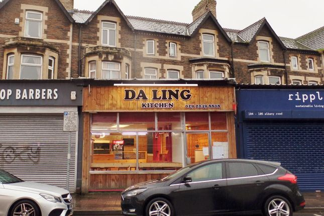 Thumbnail Restaurant/cafe to let in Albany Road, Roath, Cardiff