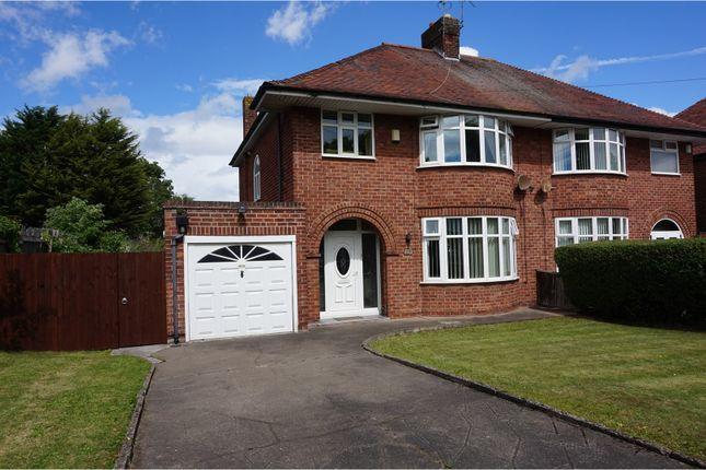 Thumbnail Semi-detached house for sale in Hoylake Road, Moreton