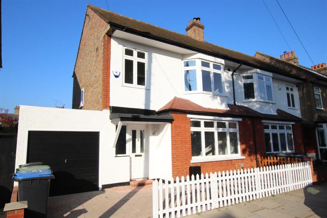 Thumbnail End terrace house for sale in Armfield Road, Enfield