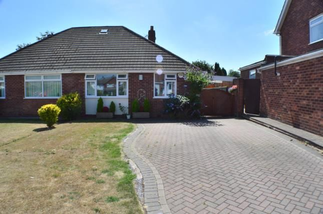 Thumbnail Bungalow for sale in Westwick Close, Off Main Street, Stonnall, Staffordshire