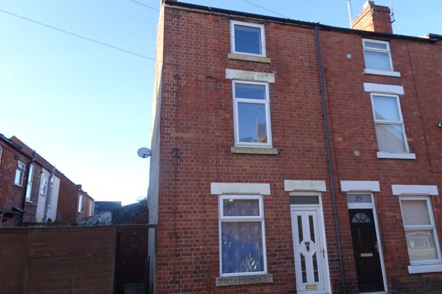 Thumbnail End terrace house to rent in Portland Street, Worksop
