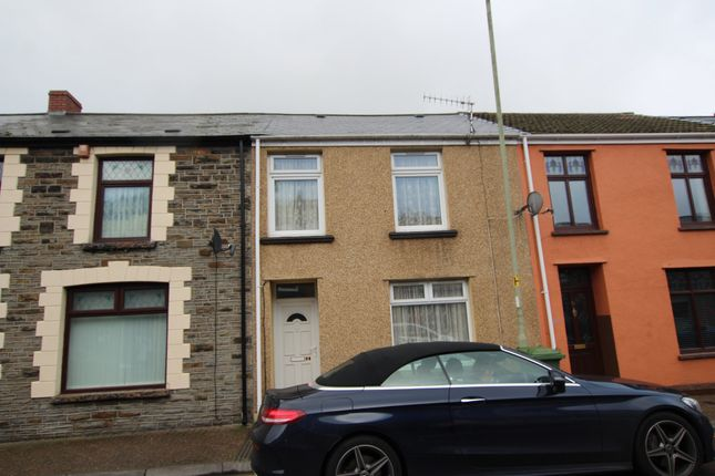 3 bed terraced house to rent in Penrhiwceiber Road, Penrhiwceiber, Mountain Ash CF45