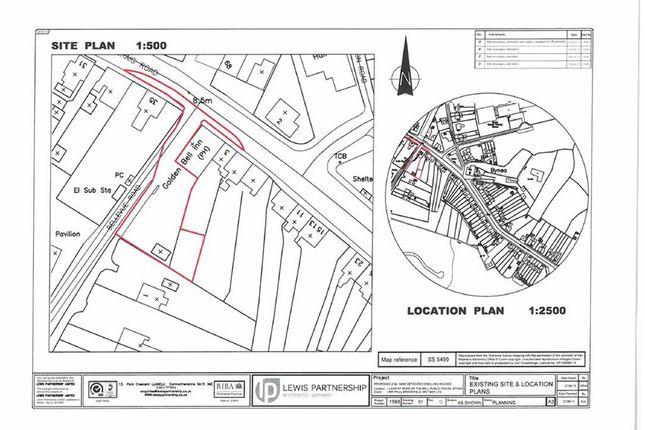 Thumbnail Land for sale in Cwmfelin Road, Bynea, Llanelli