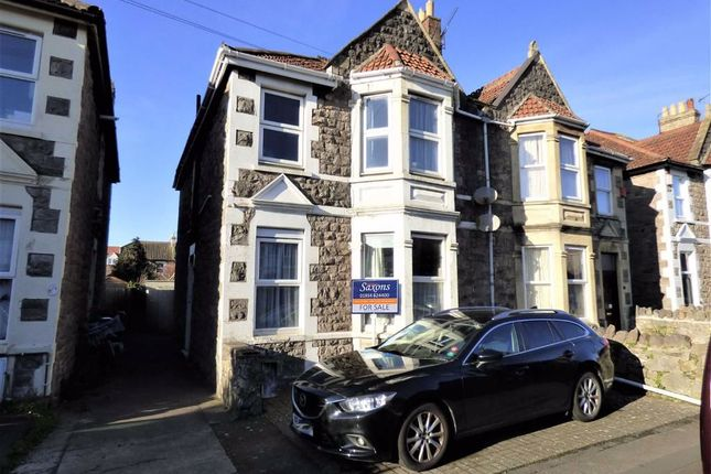 2 bed flat for sale in Osborne Road, Weston-Super-Mare BS23