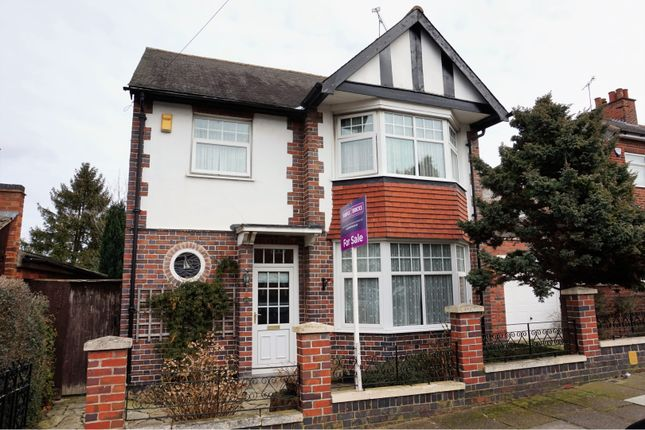 Thumbnail Detached house for sale in Bodnant Avenue, Leicester