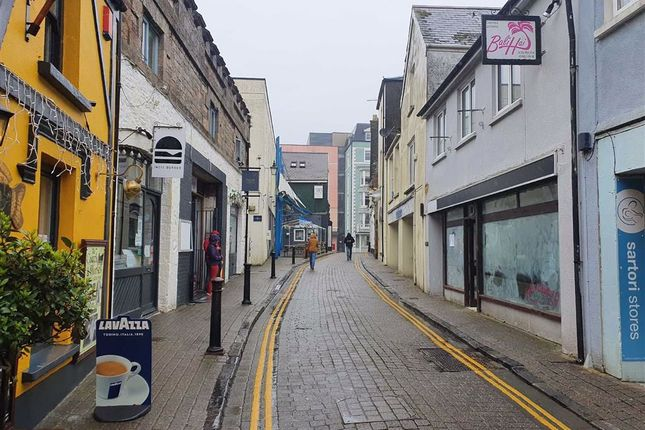 Thumbnail Retail premises for sale in Upper Frog Street, Tenby