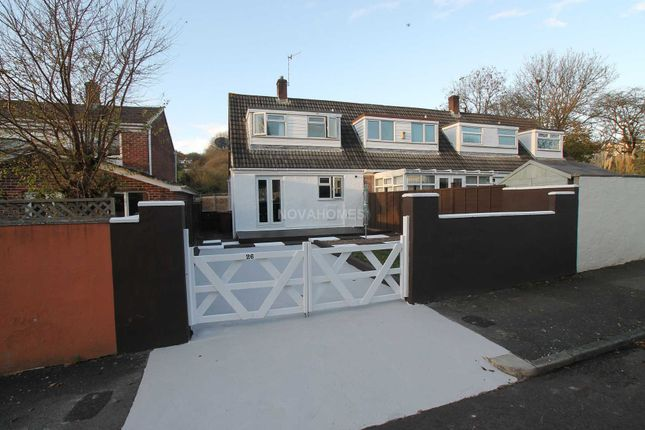 Thumbnail Semi-detached house for sale in Alden Walk, Eggbuckland, Plymouth