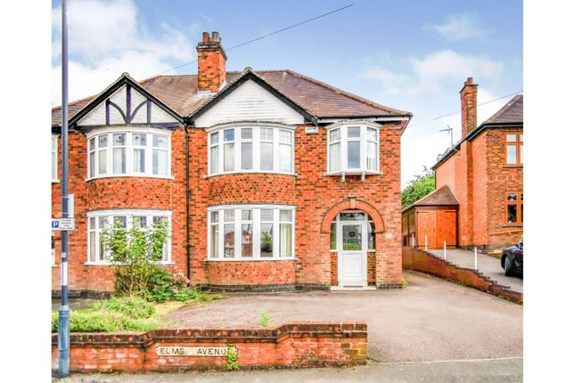 Thumbnail Semi-detached house for sale in Elms Avenue, Littleover, Derby