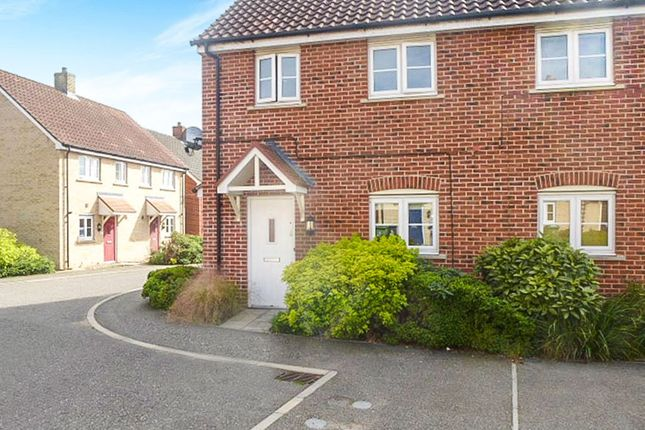 Thumbnail Flat for sale in Allisons Close, Thetford
