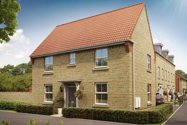 "Thumbnail Detached house for sale in ""Hadley"" at Oxford Road, Calne"