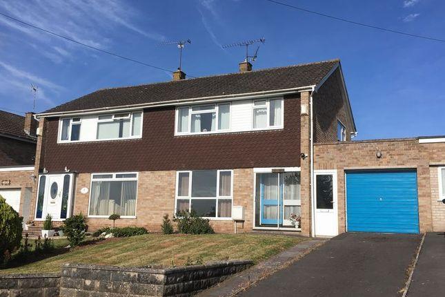 Thumbnail Semi-detached house for sale in Lyngford Lane, Taunton