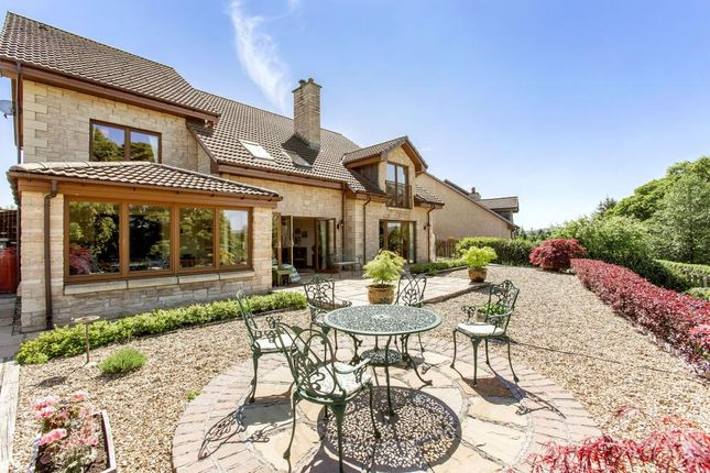 Thumbnail Detached house for sale in Hillsview House, Halmyre Loan, Romannobridge, West Linton