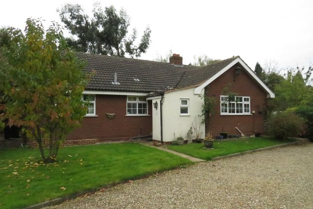 Thumbnail Detached bungalow for sale in Church Lane, Armitage, Rugeley