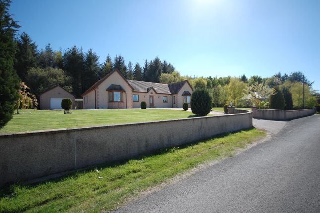 Thumbnail Detached bungalow for sale in Mosstowie, Elgin