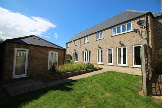 5 bed link-detached house for sale in The Waterhaven, Earith, Huntingdon