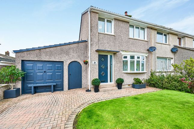 Thumbnail Semi-detached house for sale in Balmoral Road, Whitehaven, Cumbria