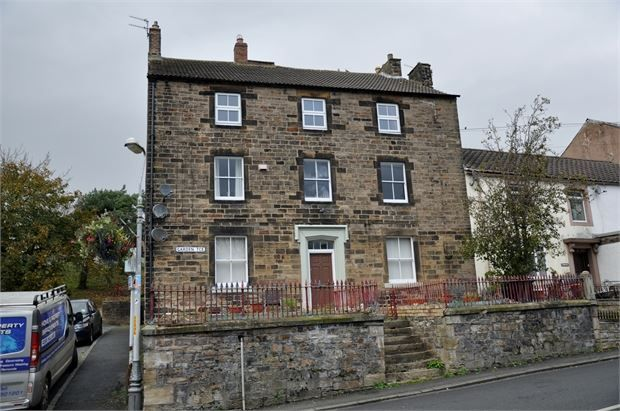 Thumbnail Town house for sale in Garden Terrace Flats, Haltwhistle, Northumberland.