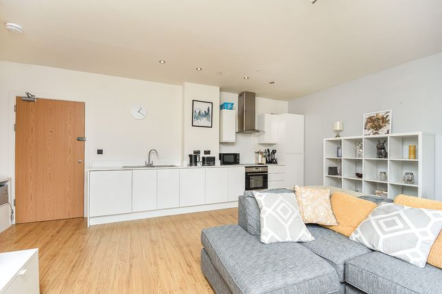 Living/Kitchen of William Shipley House, Knightrider Court, Maidstone, Kent ME15